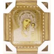 Икона Казанская 16*18 см, золотой конгрев