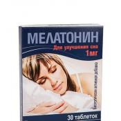 Мелатонин 1 мг, 30 табл
