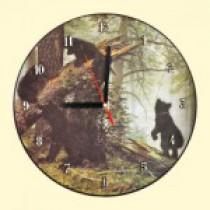 """Часы настенные """"Утро в лесу"""", Д - 29 см"""