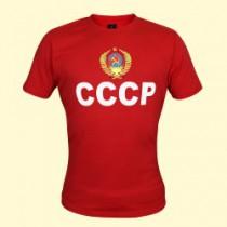 """ФУТБОЛКА """"СССР"""" красная"""