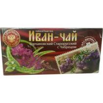 Иван-чай с чабрецом, 20 пакетов