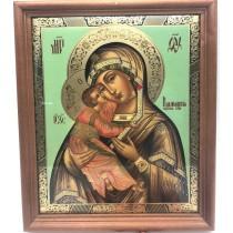 Икона в раме, Владимирская 20х24 см