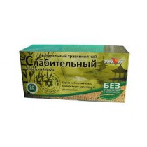"""Травяной чай """"Слабительный"""" 20 пакетиков"""