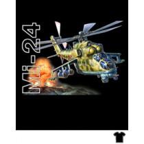 """Футболка """" Вертолет Ми-24"""""""