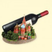 """Подставка под бутылку """"Собор Василия Блаженного"""" 16 cм"""