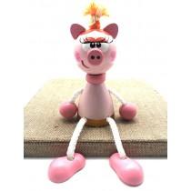 """Игрушка на пружинке """"Свинка"""", 12 см"""