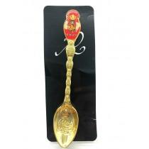 Ложка сувенирная, Матрешка, 13 см