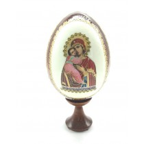 """Яйцо с иконкой """"Владимирская"""", 13 см"""