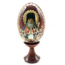 """Яйцо на подставке """"Лики святых"""", 10 см"""