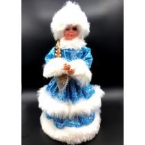 Фигура Снегурочка, 35 см