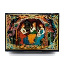 Шкатулка Русские сказки, 10*14 см