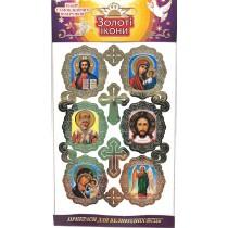 Набор пасхальных наклеек «Иконы»