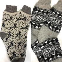 Носки мужские, 100% шерсть, ручная вязка