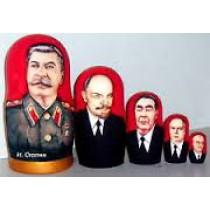 """Матрешка """"Сталин"""" 18 см"""