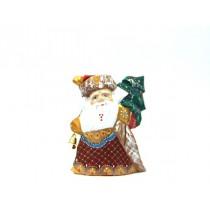 Дед Мороз  с мешком и елочкой, 15 см