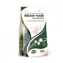 Иван-чай листовой с шиповником, 50 г