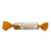 Аскорбиновая кислота со вкусом апельсина, 10 шт
