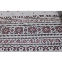 Скатерть Вышиванка, лен, 120*150 см