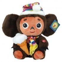 """Мягкая игрушка """"Чебурашка с мороженым"""" 30 см"""