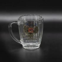 Кружка пивная с гербом России, 0,6 л