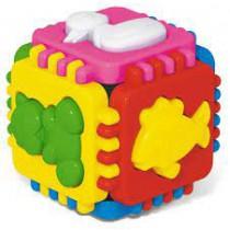 Логический куб Веселые зверята