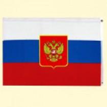 "Флаг ""Россия"" с гербом, 90x150 см,"