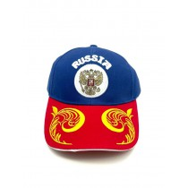 Бейсболка кепка Россия с гербом