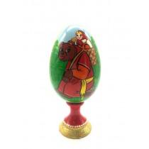 "Яйцо на подставке ""Маша и медведь"", 17 см"