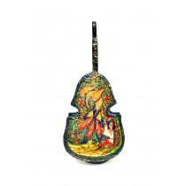 Шкатулка виолончель  2*18*8 см.