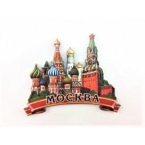 """Магнит """"Красная Площадь"""", дерево"""