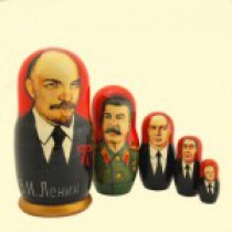 "Матрёшка ""Ленин"" (M5) 10 см"