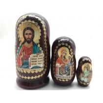 "Матрешка Религия ""Иисус Христос"", 3 места"