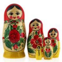 """Матрёшка """"Семёновская"""" (M5) 10 см"""