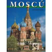 Альбом Москва с картой метро на испанском языке