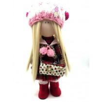 Кукла Тильда с сумочкой