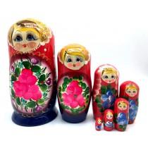 "Матрешка ""Цветы"", ,7 мест"