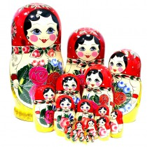 Матрешка Семеновская, 20 кукол