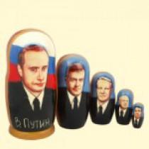 "Матрёшка ""Путин"" (M5) 10 см"