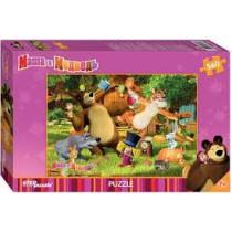 """Puzzle """"Маша и медведь"""", 560"""
