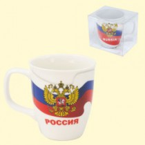 "Чашка ""Россия""  400 мл,"