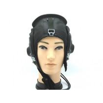 """Шапка """"Шлем летчика"""", кожаный"""